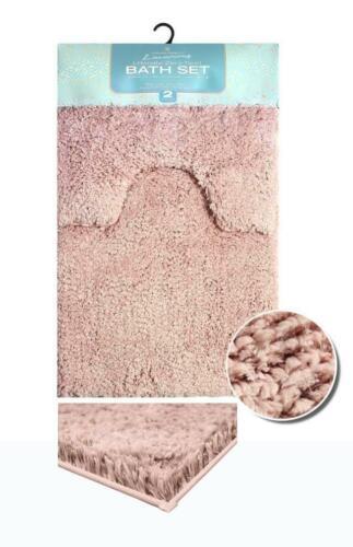 ZERO TWIST  Teddy Fluffy Soft Thick Bath Mat Non Slip Water Absorbent Bath Rugs