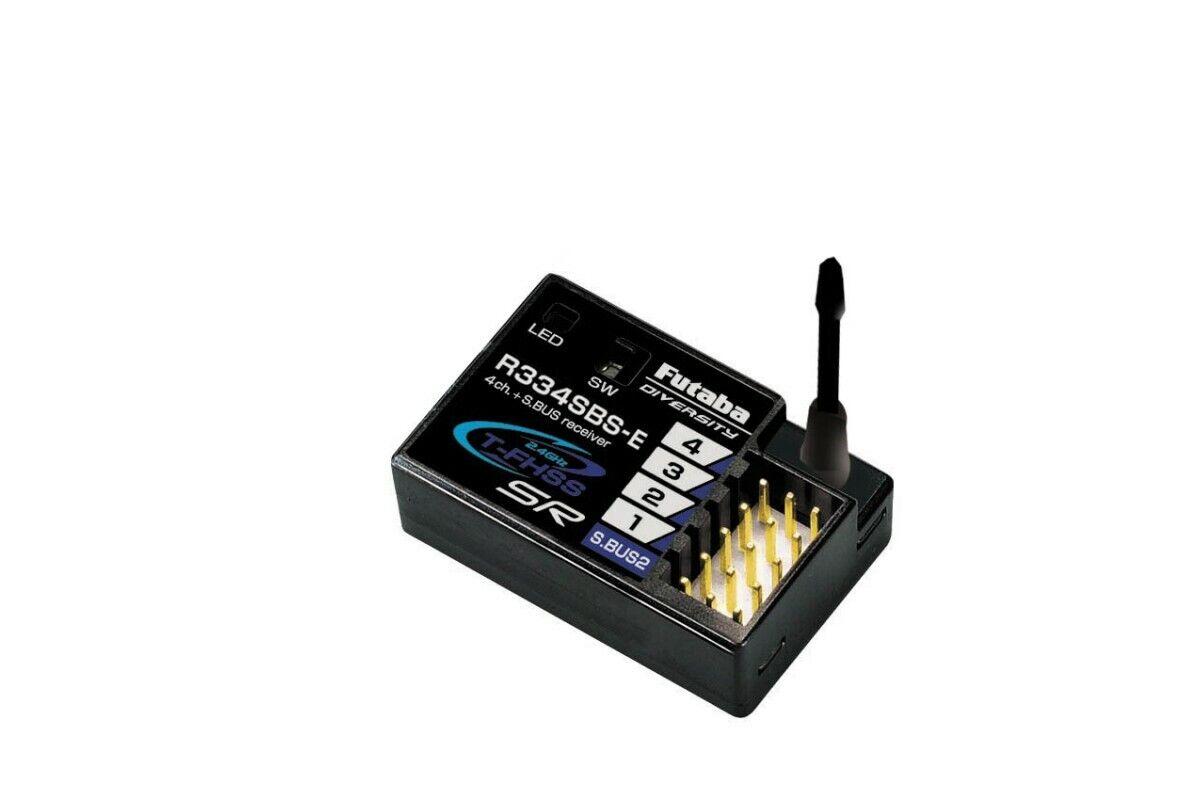Futaba r334sbs-e receptor 2,4ghz T-FHSS telemetría