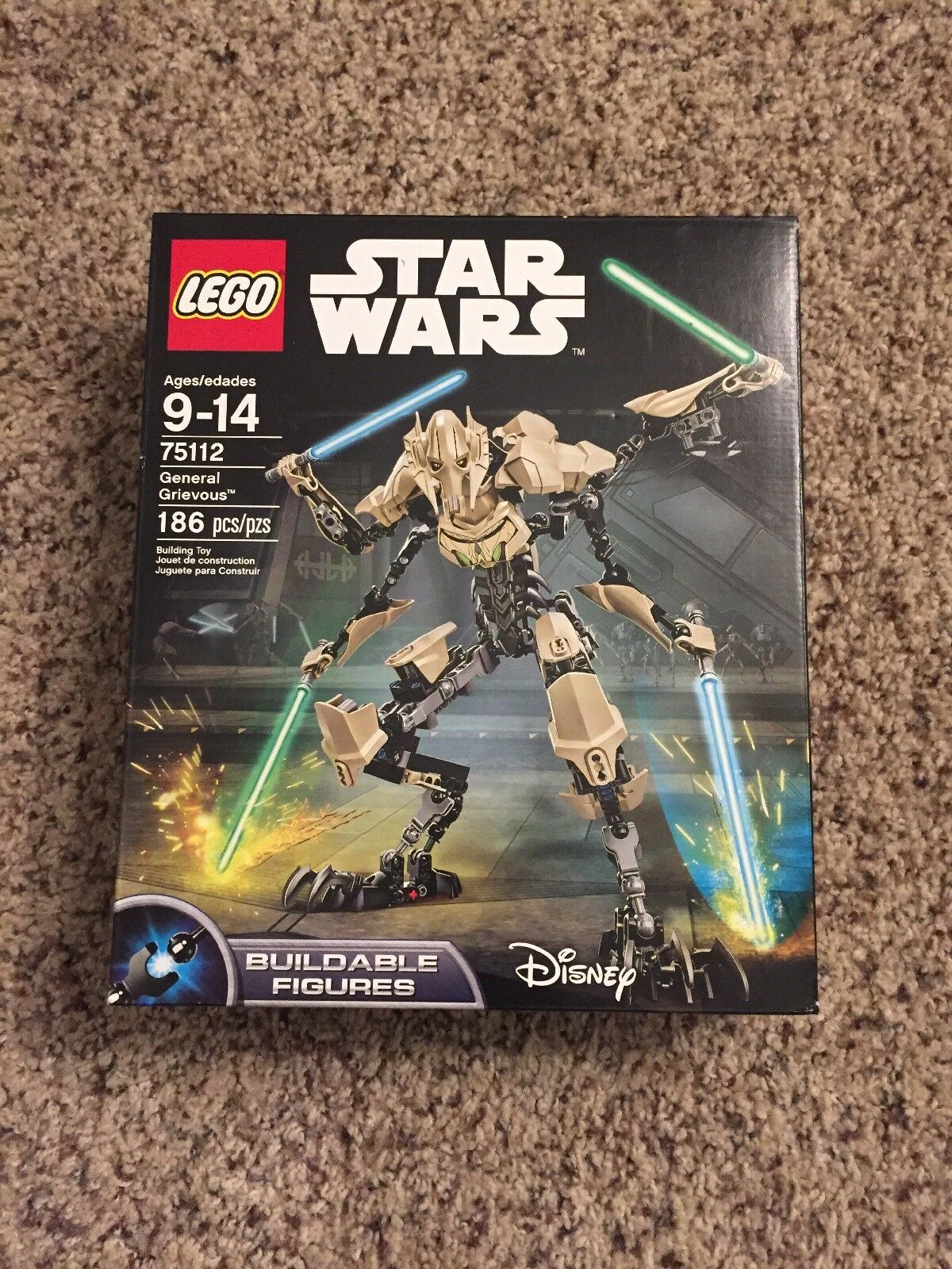 LEGO Star Wars General Grievous 2015  75112