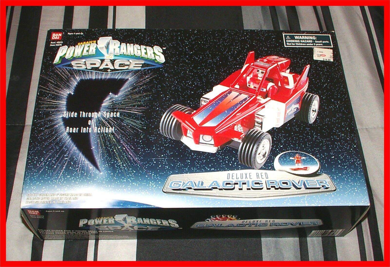 Power rangers im weltall  dx rote galaktischen rover _  mint in der fabrik versiegelten kiste