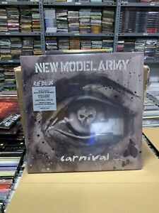 New Model Army 2 LP Carnival 2020 Limited Edition White Vinyl Versiegelt