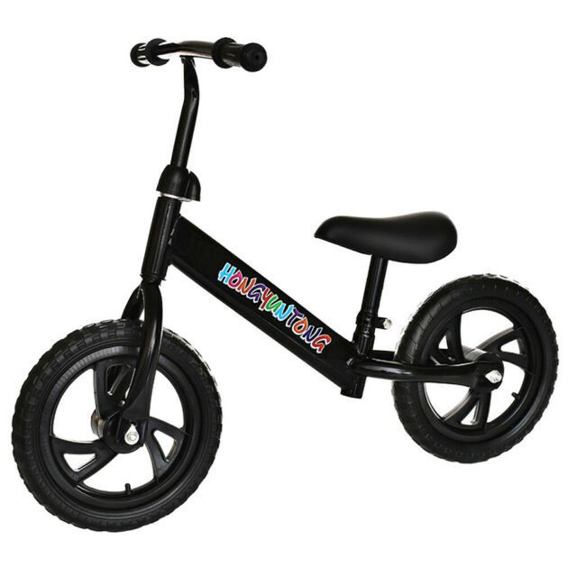"Balance Bike Kids No-Pedal Learn To Ride Pre Bike 12/"" Adjustable Seat"