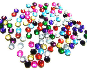 2-or-4-Gross-Mixed-job-lot-ss20-4mm-flat-back-iron-on-hotfix-glass-gems-assorted