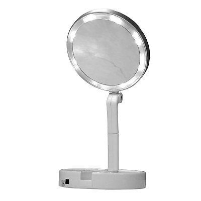 Jml Finishing Touch Flawless Folding Mirror Bright White