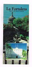 Brochure Turism La Fortaleza Hernandez Colon Puerto Rico Estrella Del Caribe