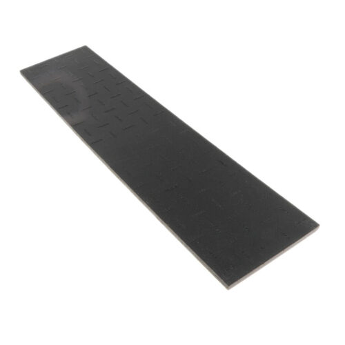 Black Shoe Rubber Soling Sheet 6mm thickness Shoe soles