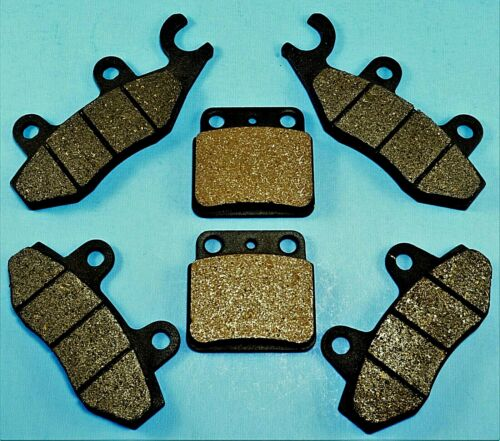 2006-14 Front and Rear Brake Pads For SUZUKI Quadracer 450 LTR450