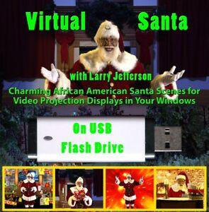 Virtual Black Santa on 8GB USB Flash Drive - FREE worldwide shipping | eBay