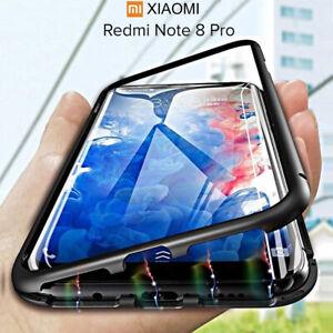 Coque-Pour-Xiaomi-Redmi-Note-8-Pro-Original-Magnetica-360-Double-Verre-Trempe