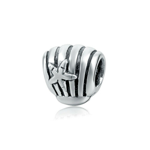 AUTHENTIC Sterling Silver SS 925 Seashell Charm