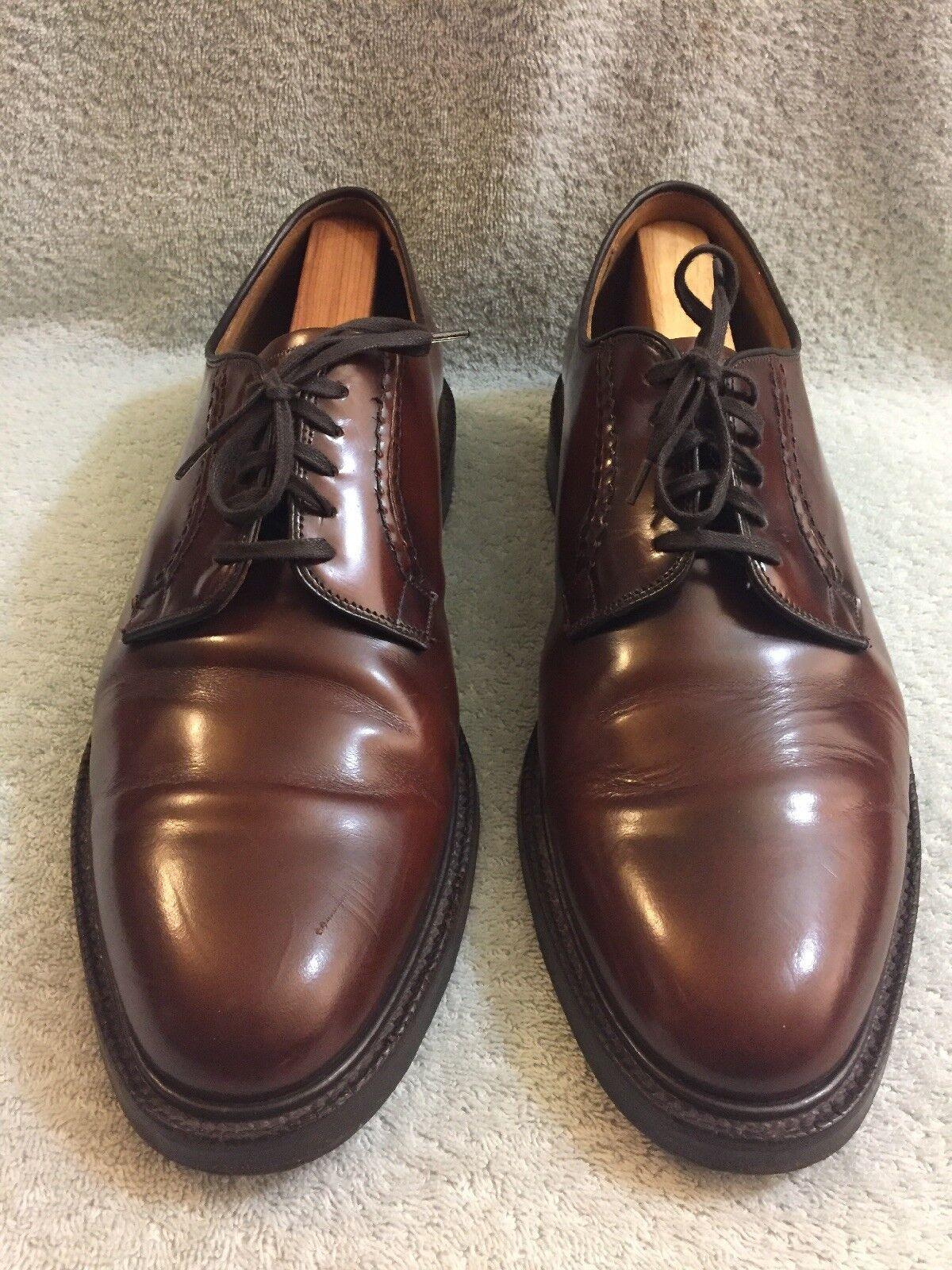 CHEANEY mano hecha a mano en Inglaterra Zapatos Con Cordones Borgoña para Hombre L 13