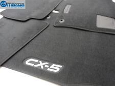 MAZDA CX-5 SKYACTIV 2013-2016 NEW OEM BLACK CARPETED FLOOR MATS 0000-8B-R10