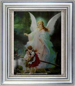 Guardian Angel Children On Bridge Heilige Schutzengel By Lindberg