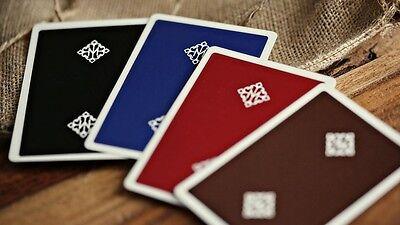 3 packs set MADISON decks BROWN BLACK GREEN Ellusionist Bicycle Playing Cards