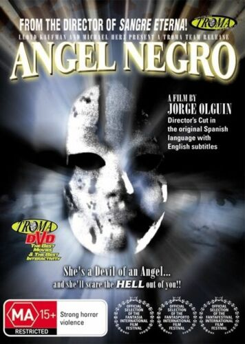 1 of 1 - Angel Negro (DVD, 2010) + Extras  * Troma * * Priced to Clear *