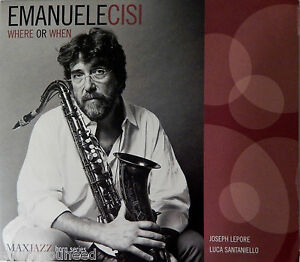 Emanuele-Cisi-Where-Or-When-Digipak-CD-2013-MAXJAZZ-VG-9-5-10