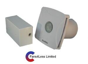 Lievi 100 S Bagno Estrattore Doccia Ventilatore Luce bianca da parete 12 V LED  </span>