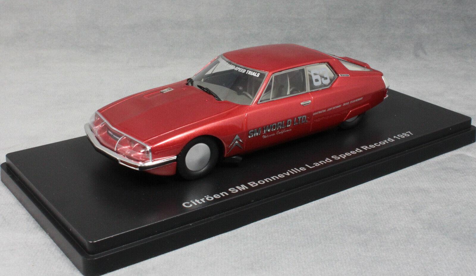 Neo Models Citroen SM Bonneville Land Speed Record 1987 202mph 46605 1 43 NEW