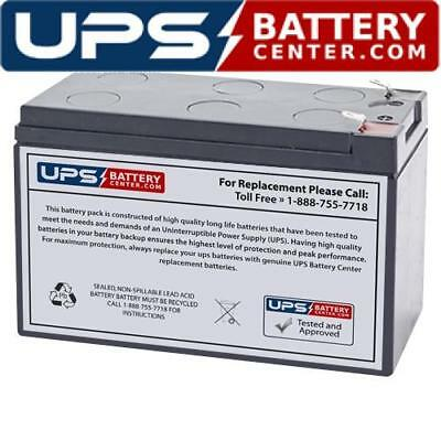 UPSBatteryCenter BK300 Compatible Replacement Battery for APC Back-UPS Pro 300VA