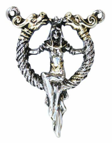 Los tesoros perdidos de Albión Queen Boudicca/'s Torc Colgante Guerrero Real Celta
