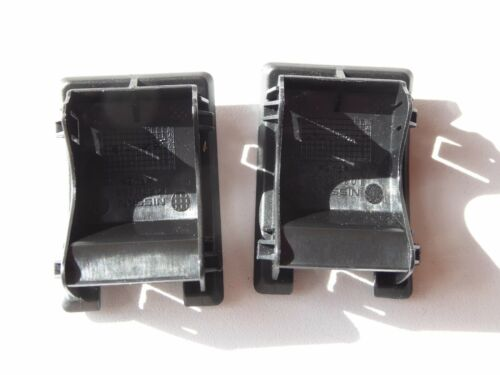 NISSAN QASHQAI 2015-2019 CHILD SEAT ISOFIX COVER TRIM CAP L0355523 GENUINE PAIR