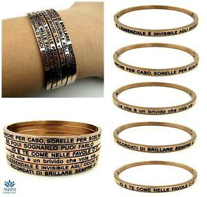 Bracciale-rigido-da-donna-in-acciaio-inox-con-scritta-per-braccialetto-rosato