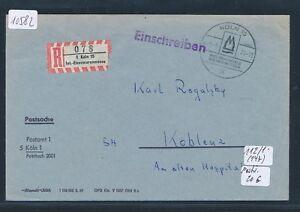 10582) Spécial R-ticket De Cologne Int. - Fer étaient Messe, Postsache Sst 8.3.71-nmesse, Postsache Sst 8.3.71fr-fr Afficher Le Titre D'origine Bon Pour L'éNergie Et La Rate
