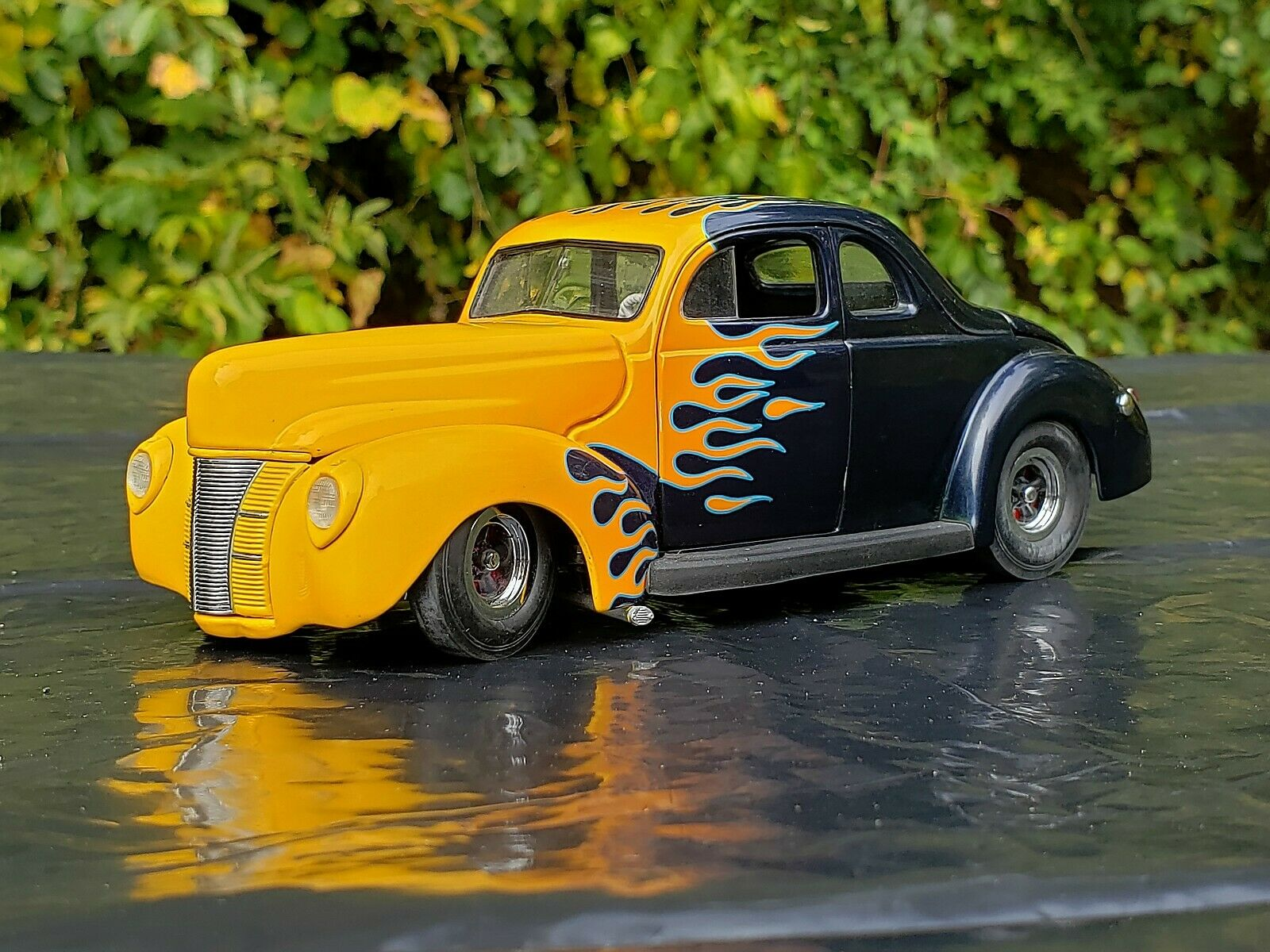 1940 FORD DELUXE COUPE heiß ROD 1 24 DANBURY MINT DIE CAST
