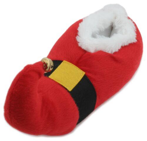Novità Adult Red Slumberzzz Plush Santa Christmas Unisex Slippers 3d dTqIT