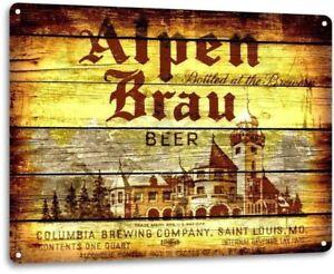 "METAL PUB BAR BEER SIGN 15/"" *NEW* BRECKENRIDGE BREWERY"