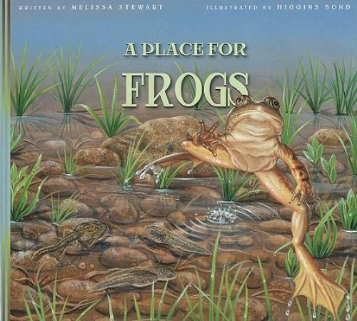 A Place for Frogs-ExLibrary