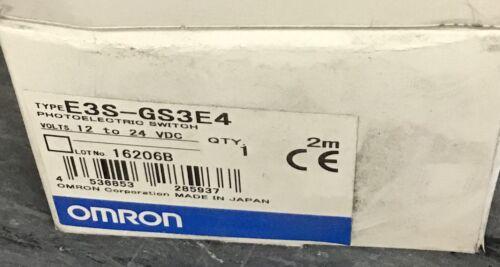 Omron E3S-GS3E4 photoelectrio switch NEW