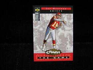 1994-Joe-Montana-49ers-Upper-Deck-034-Gold-034-Crash-the-Game-C8-G1823