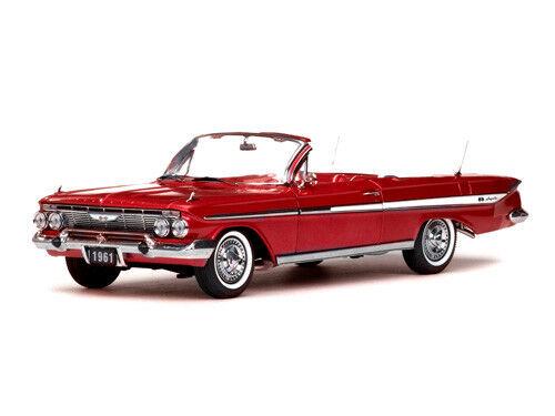 1961 Chevrolet Impala Converdeible 1 18 SUNEstrella 3406 Rojo