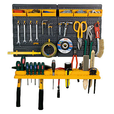 Garage, Shed, Garden Mini Tool Storage and Organiser  Kit