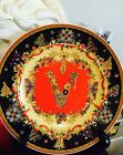 VERSACE MEDUSA  CHRISTMAS Plate ROSENTHAL Limited retired  NEW SALE