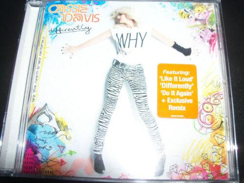 1 of 1 - Cassie Davis Differently (Australia Pop) CD – New