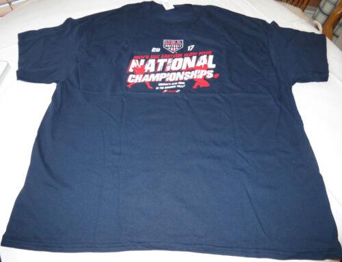 2017 National Championships USA softball Gildan XXL short sleeve T shirt Mens