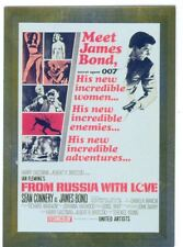 James Bond Connoisseurs Collection Volume 1 Metalworks Poster Chase Card P02