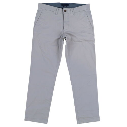 Tommy Hilfiger Mens Chino Pants Tailored Fit Flat Front Stretch Casual New Nwt