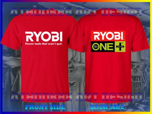 RYOBI TOOLS T-SHIRT RYOBI ONE PLUS SYSTEM TOOLS T-SHIRT