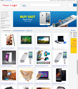 Auction Website New Design Ebay