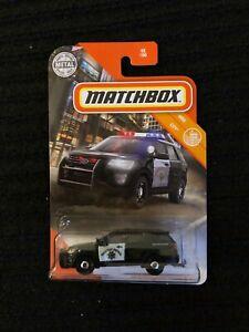 48 Matchbox 2020-2016 Ford Interceptor Utility neu in OVP MBX City