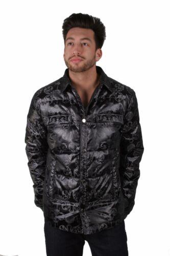 Fantasia Versace Medio Puff Nwt Jacket Collection E4Sq74A