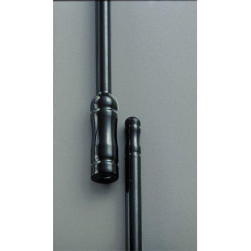 All Sales 6215K Stubbie Universal Antenna Black Powder Coat Front or Rear