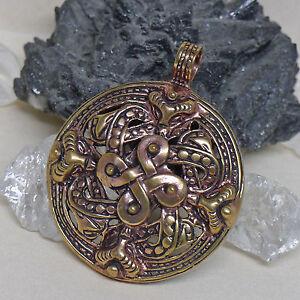 Toll Massiv Wikinger Bronze Anhänger Vier Elemente Amulett Talisman Rus Slaven Fein Verarbeitet Rollenspiele & Tabletops Wikingerschmuck