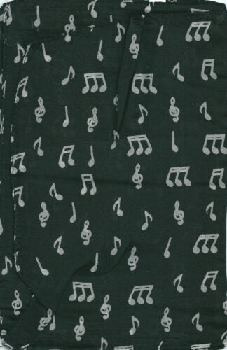 Treble Clefs and Music Notes 100/% silk scarf