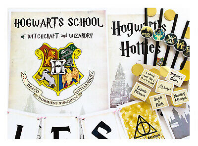 Coco/&Bo Hogwarts Hotties Hen Party Table Confetti Harry Potter Pink Decoration