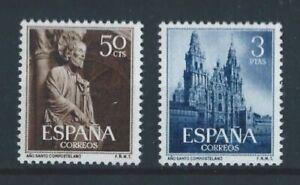ESPANA-1954-ANO-SANTO-COMPOSTELANO-EDIFIL-1130-1131