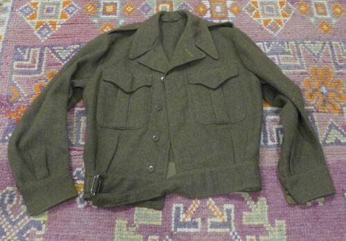 Canadian Army Jacket Korean War 1953 Blouse Serge